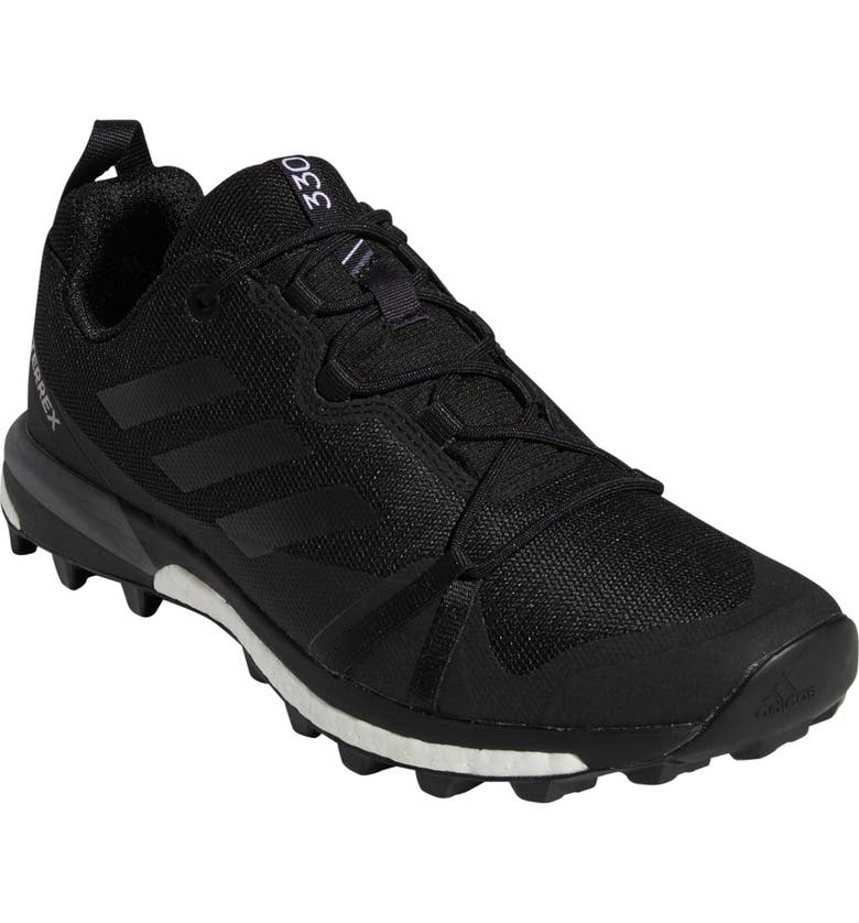 ADIDAS Terrex Skychaser LT Trail Running Shoe, Main, color, BLACK/ BLACK/ GREY FOUR