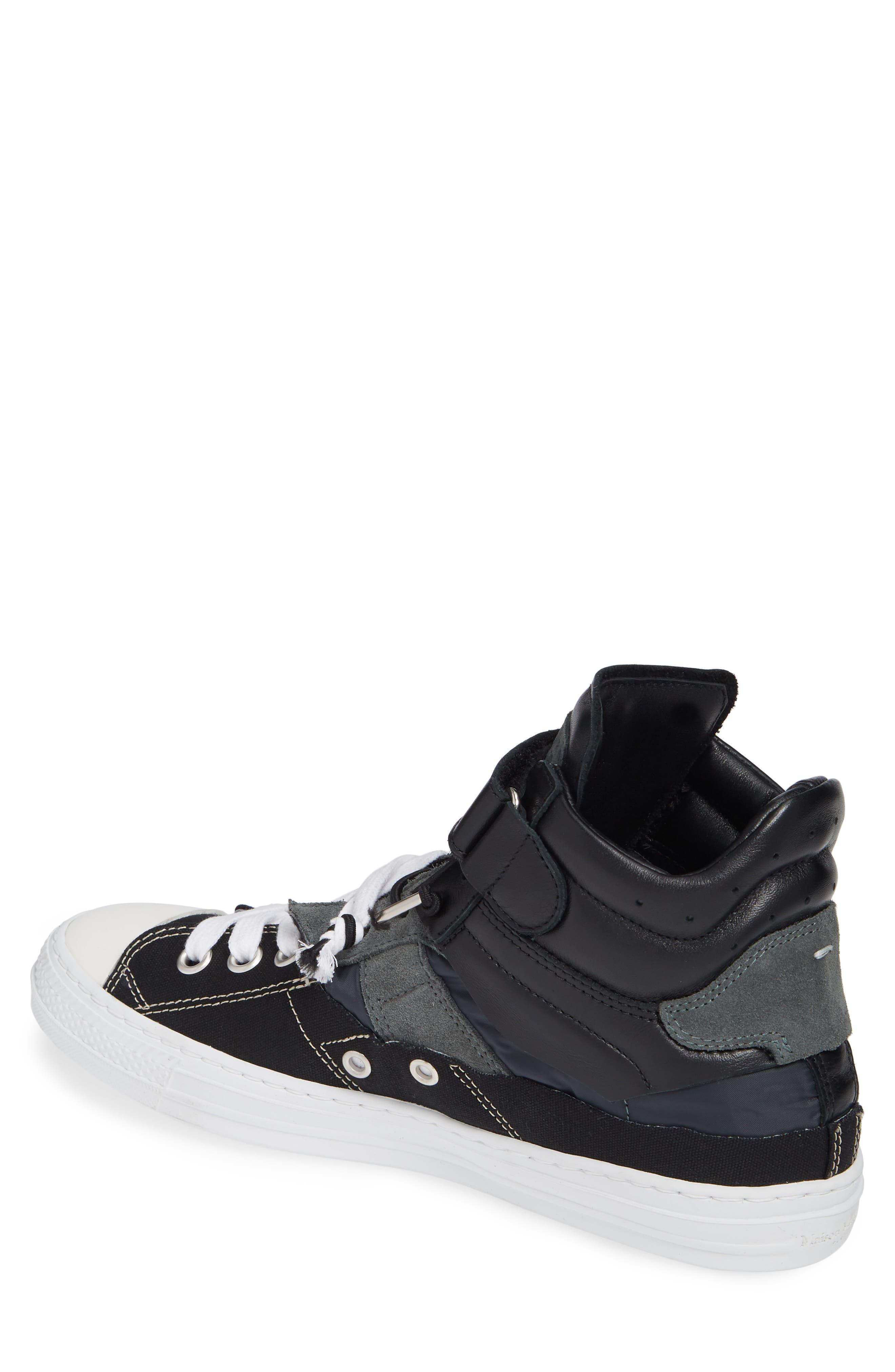 ,                             High Top Sneaker,                             Alternate thumbnail 2, color,                             001
