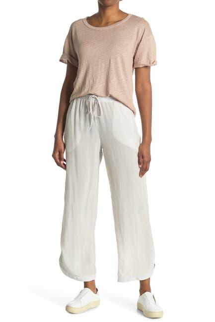 Image of Stateside Cupro Curved Hem Pants