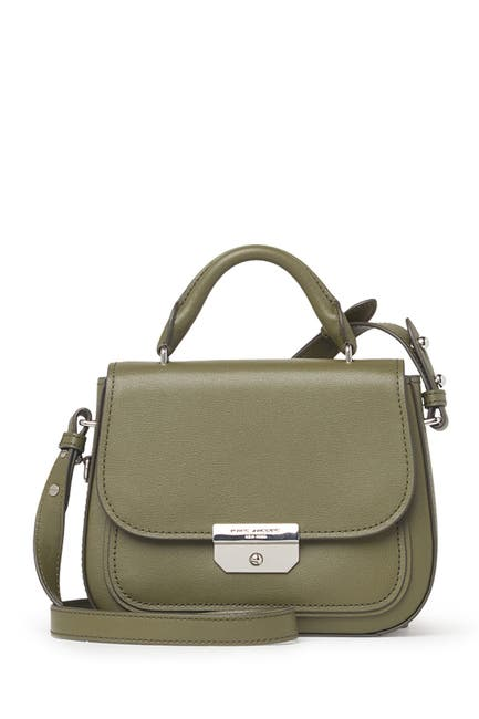 Image of Marc Jacobs Rider Mini Top Handle Leather Crossbody Bag