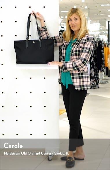 taylor large nylon tote, sales video thumbnail