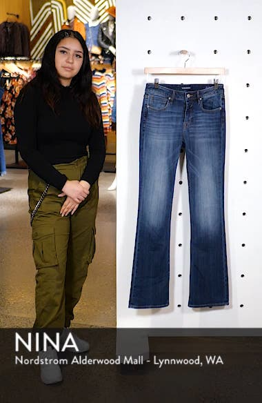 Long Jagger Bootcut Jeans, sales video thumbnail