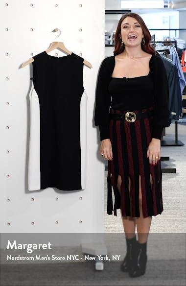Coley Colorblock Shift Dress, sales video thumbnail