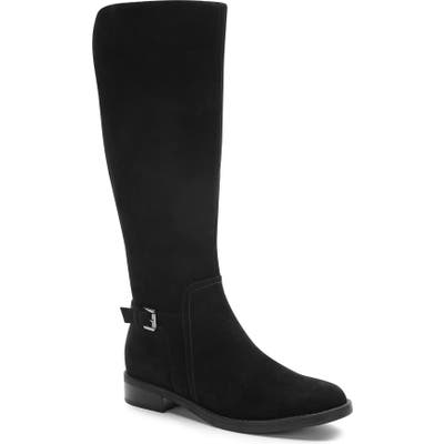 Blondo Evie Riding Waterproof Boot- Black