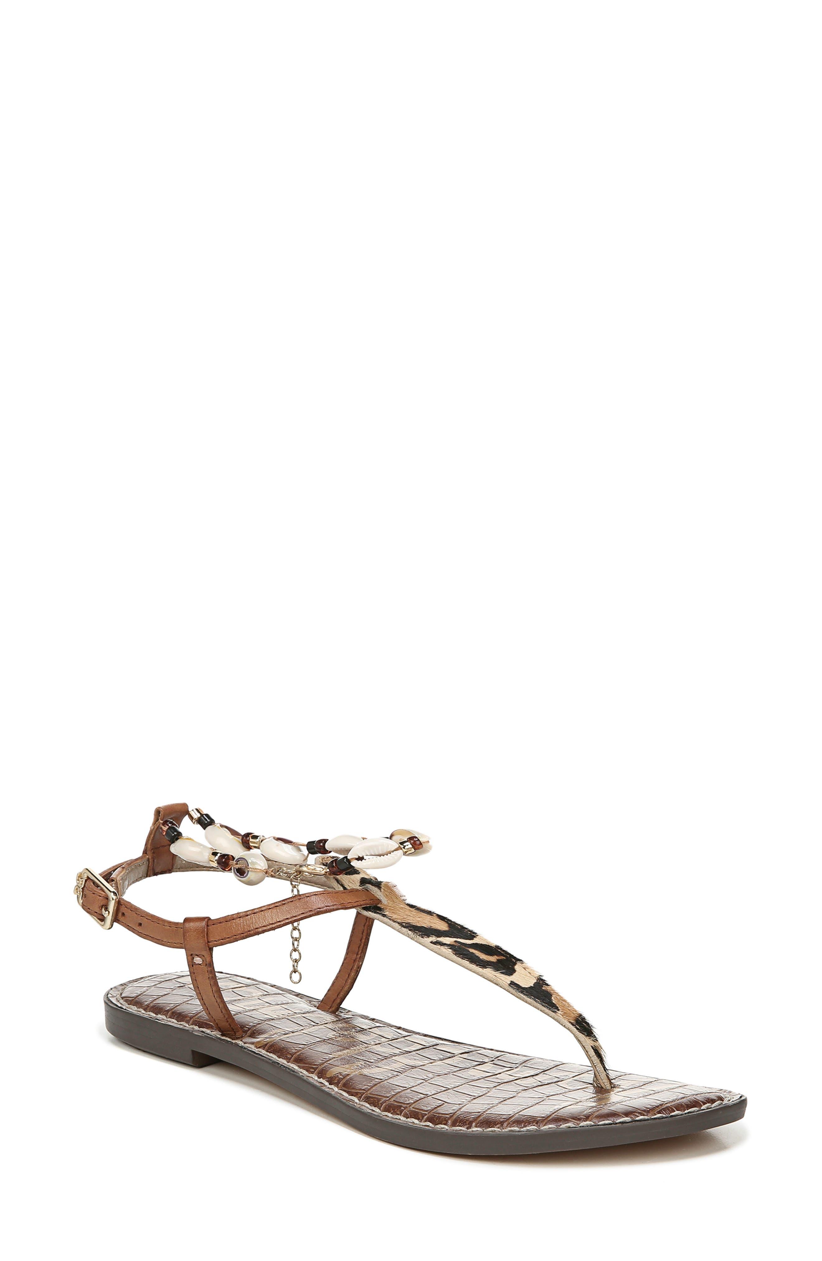 Sam Edelman Geena Anklet Sandal, Brown