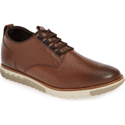 Hush Puppies Expert Perforated Oxford, Brown