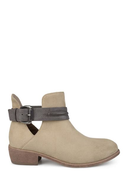 Image of JOURNEE Collection Mavrik Ankle Strap Bootie