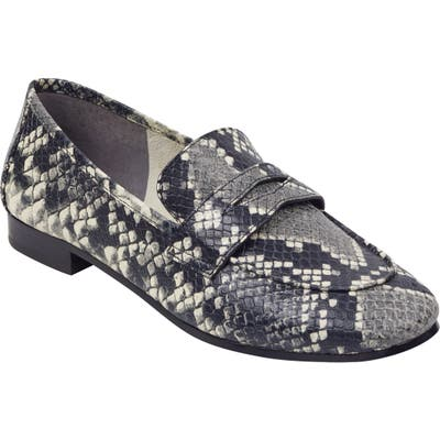 Marc Fisher Ltd Chang Penny Loafer, Grey