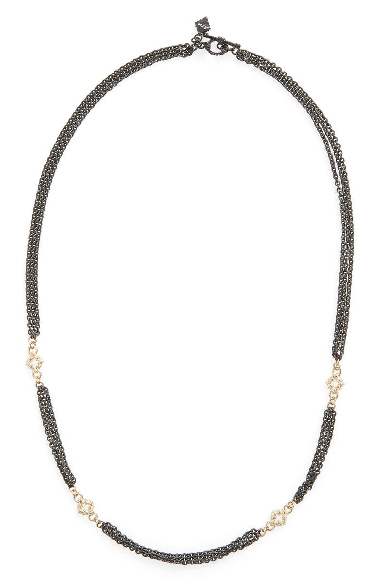 ARMENTA New World Strand Necklace, Main, color, GOLD