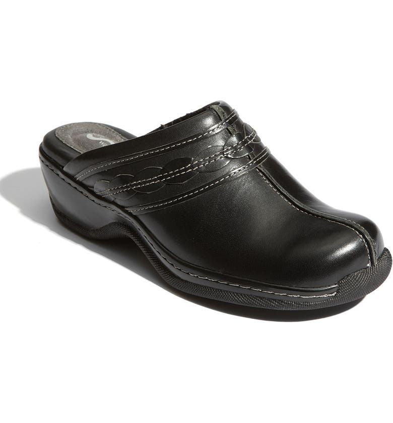 SOFTWALK<SUP>®</SUP> Abby Mule, Main, color, BLACK