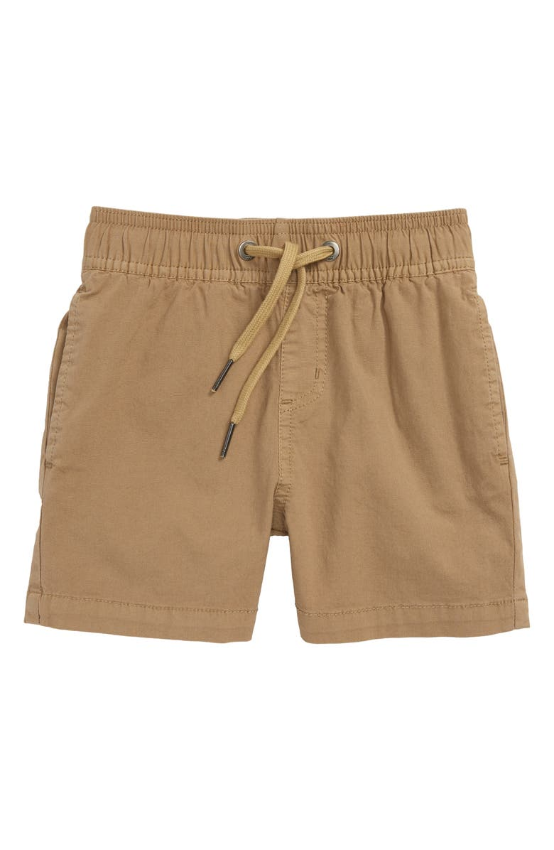 BILLABONG Larry Layback Shorts, Main, color, DARK KHAKI