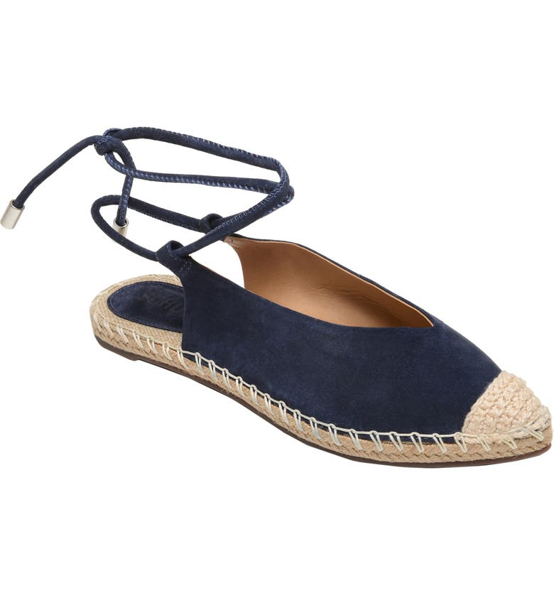 SCHUTZ Laba Wraparound Espadrille Sandal, Main, color, SAILFISH