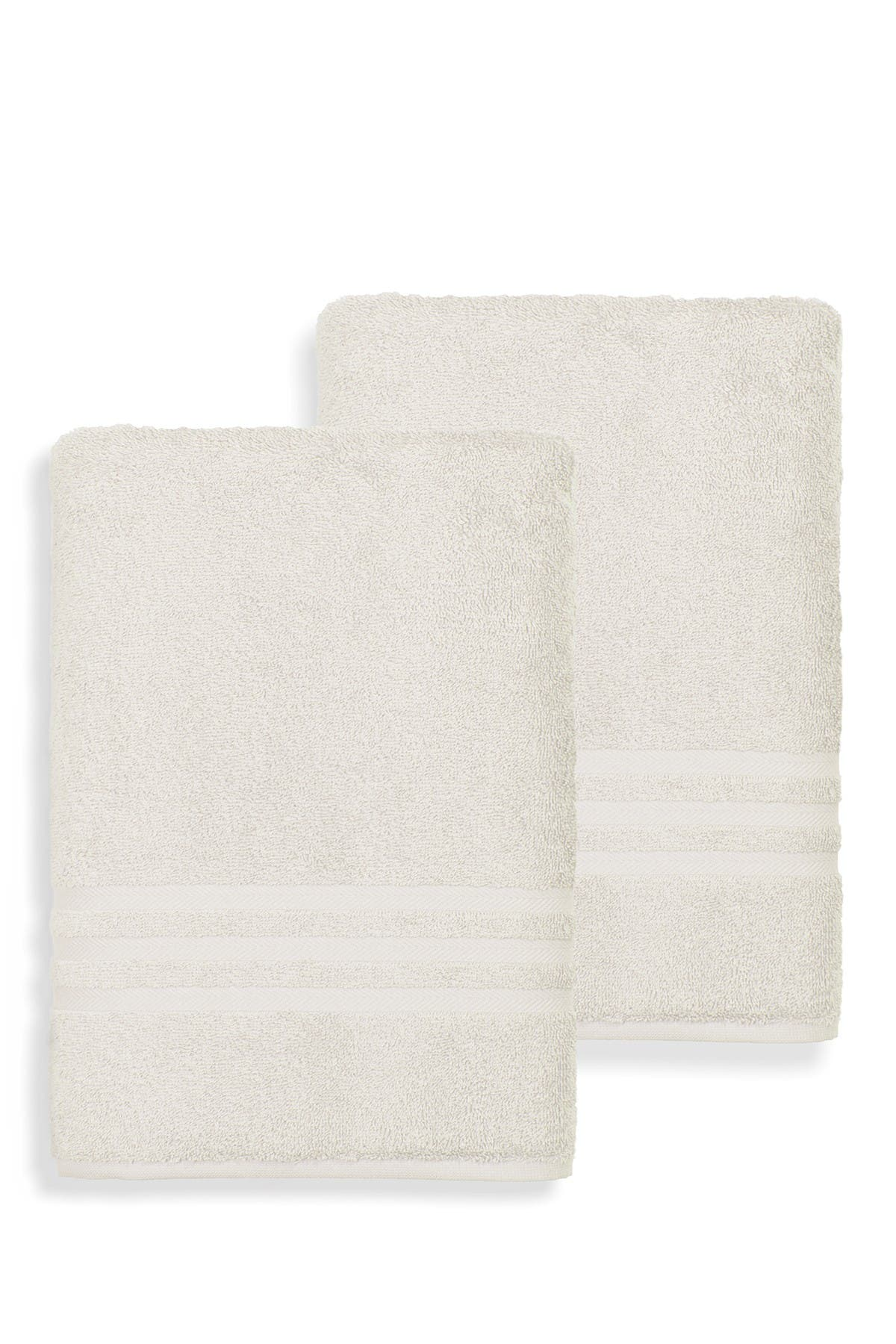 Image of LINUM HOME Denzi Bath Sheet - Set of 2 - Cream