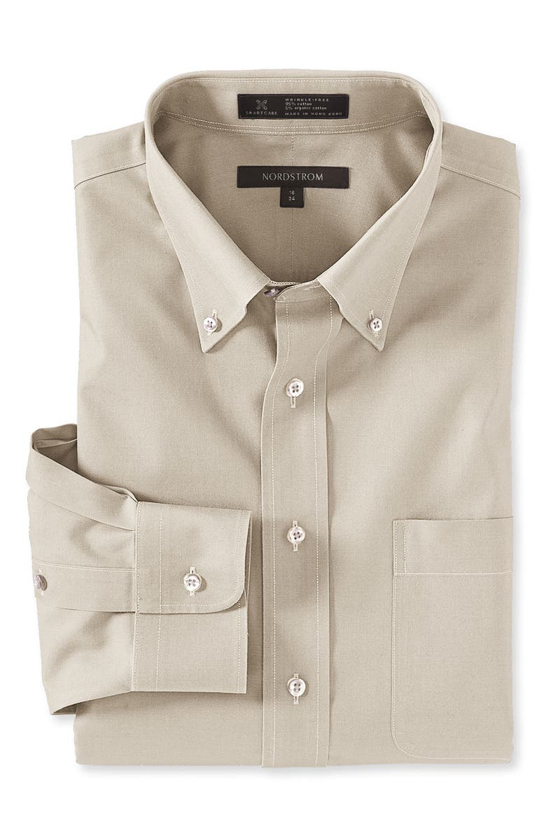 NORDSTROM MEN'S SHOP Nordstrom Smartcare<sup>™</sup> Traditional Fit Pinpoint Dress Shirt, Main, color, 330