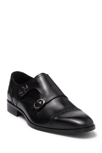 Image of Bruno Magli Cicco Double Monk Strap Leather Loafer