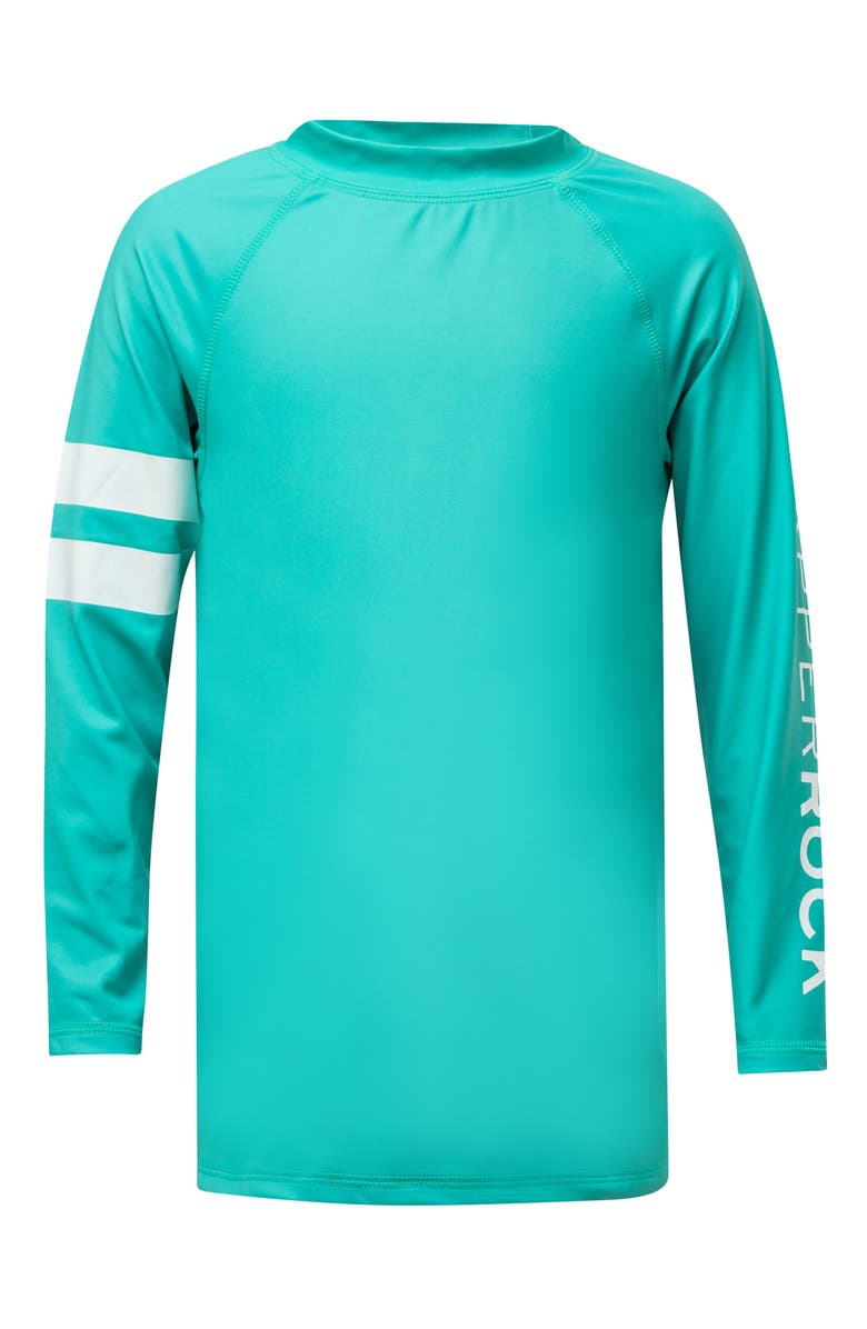 SNAPPER ROCK Mint Rashguard, Main, color, LIGHT PASTEL GREEN