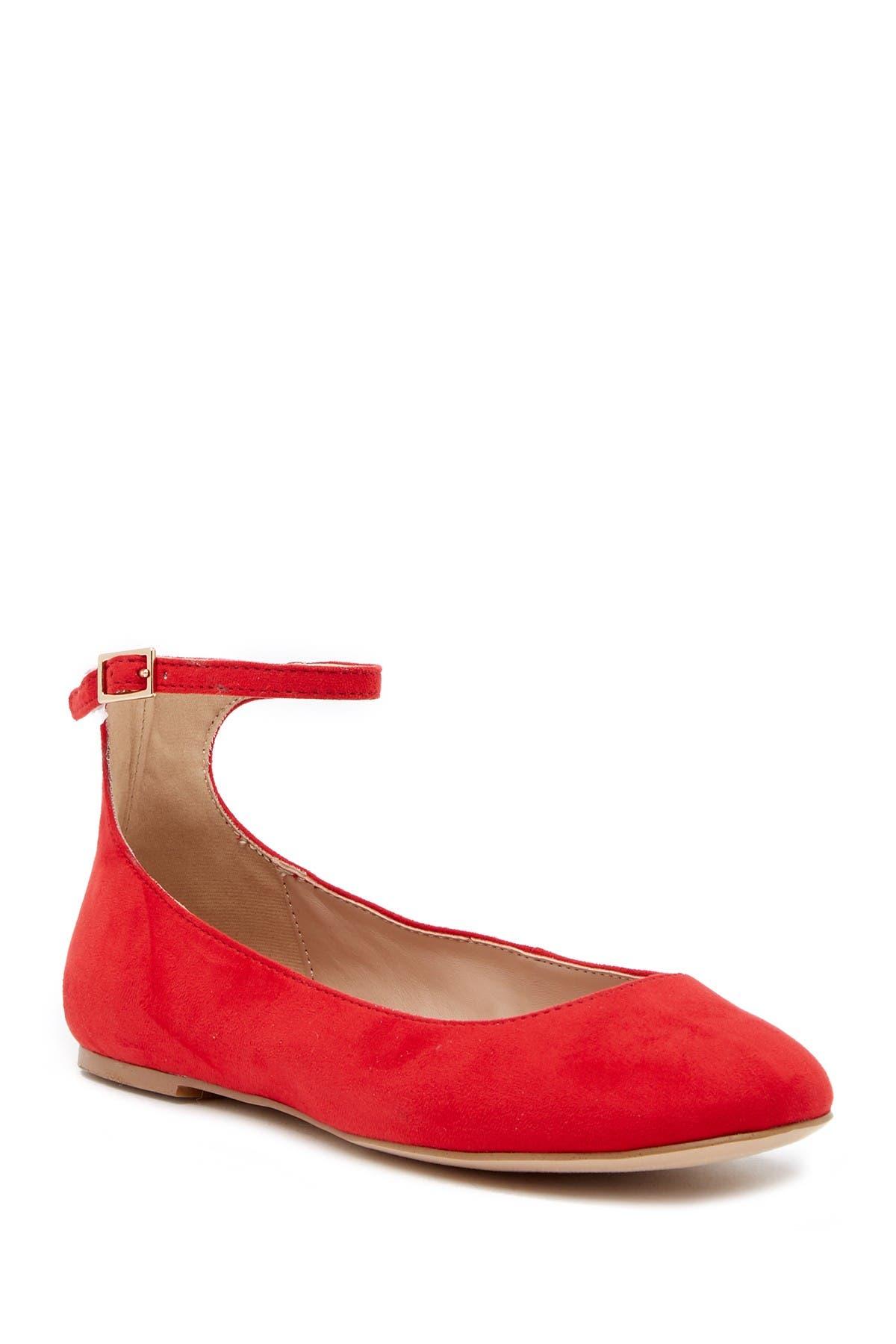 Image of BCBG Gwen Ankle Strap Flat