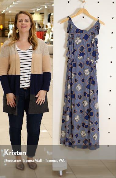 Ruffle Trim Maxi Dress, sales video thumbnail