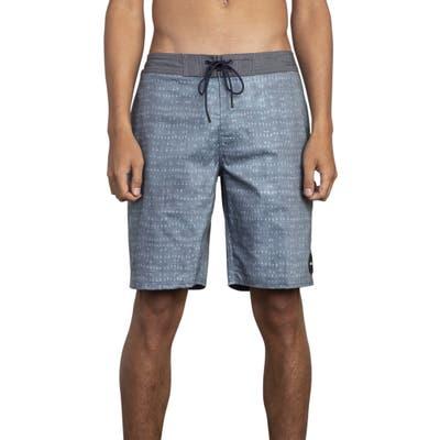 Rvca Nakama Board Shorts, Blue