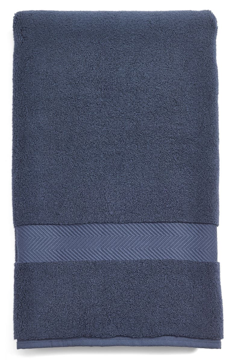 NORDSTROM AT HOME Hydrocotton Bath Towel, Main, color, BLUE VINTAGE