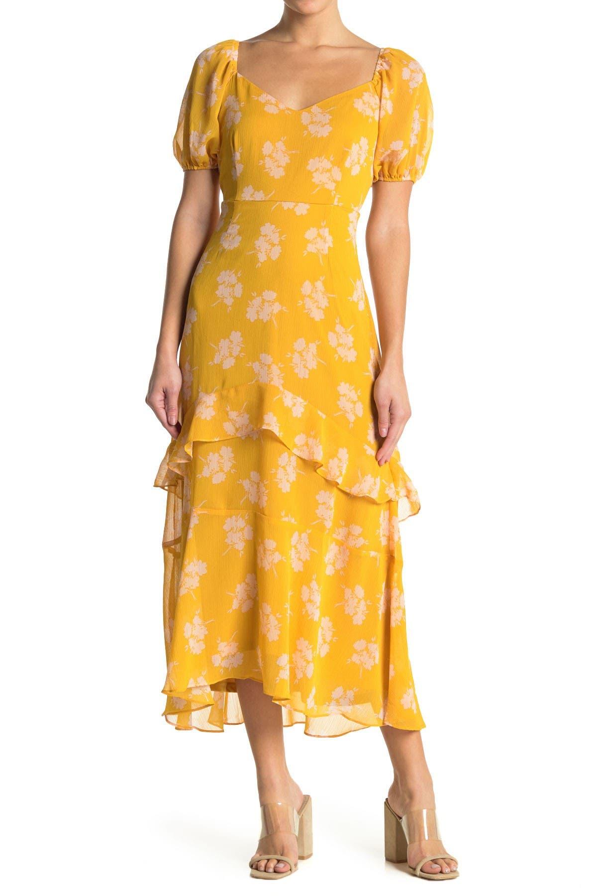 Image of Lush Ruffle Maxi Dress