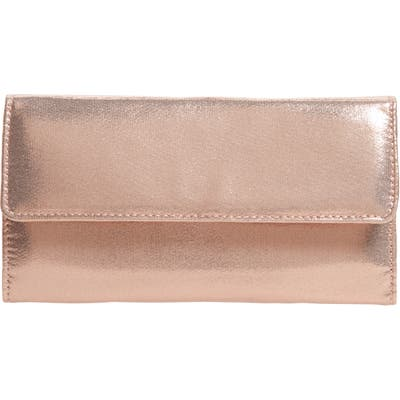 Nordstrom Jewelry Travel Roll - Pink