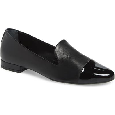 Agl Cap Toe Loafer - Black