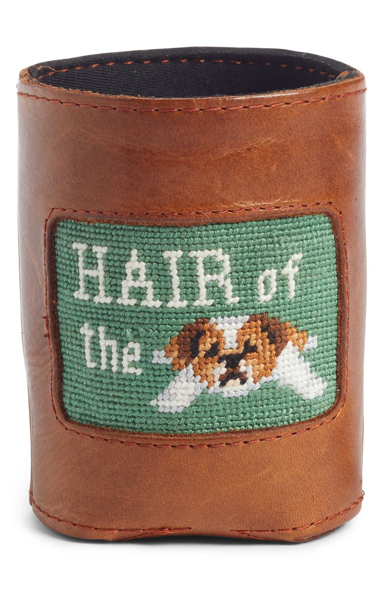 SMATHERS & BRANSON Hair of the Dog Koozie, Main, color, SAGE
