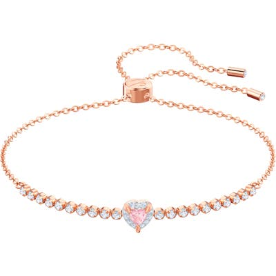 Swarovski Crystal Slider Bracelet