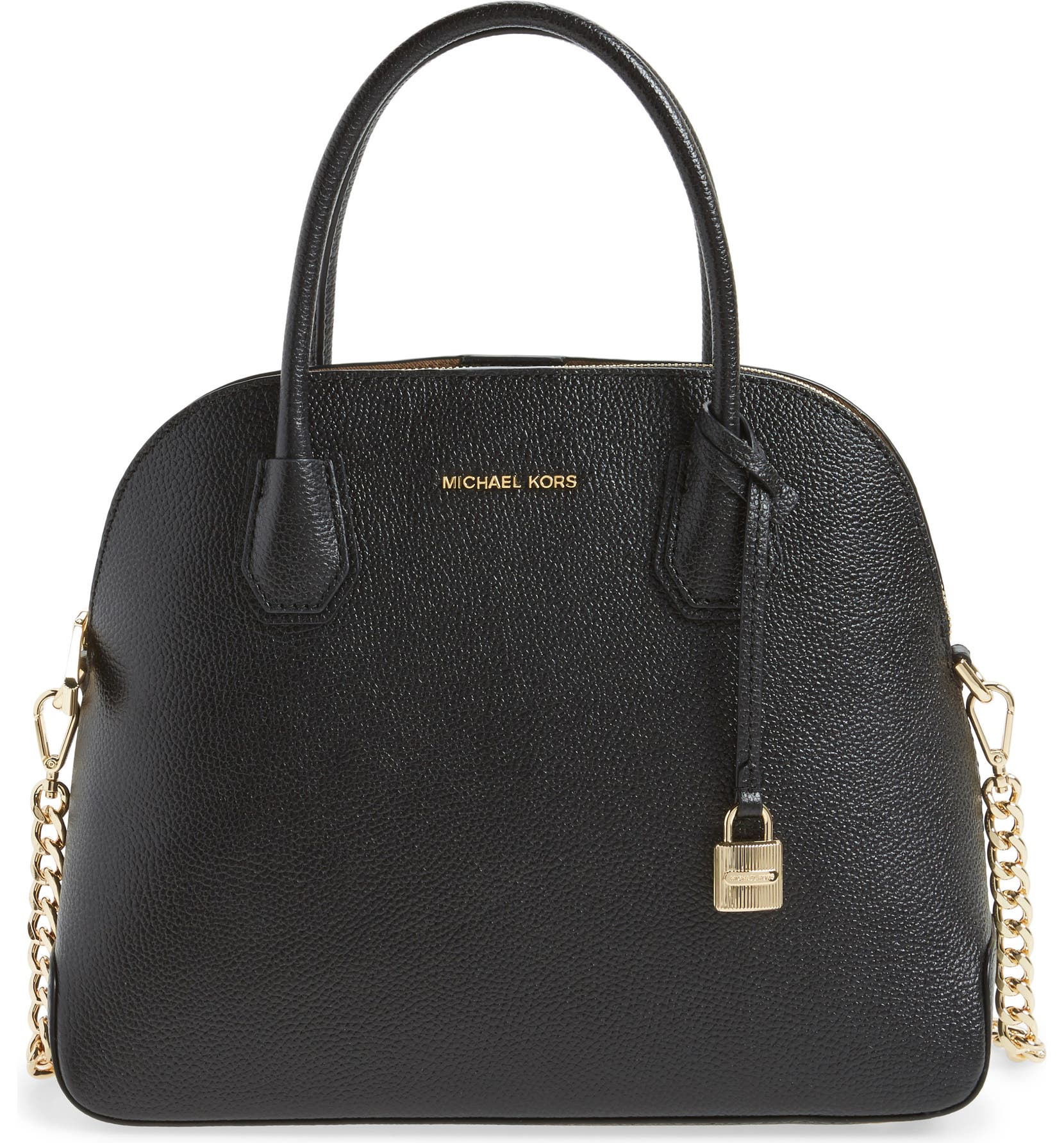 29fbbac7950e MICHAEL by Michael Kors Large Mercer Leather Dome Satchel | Nordstrom