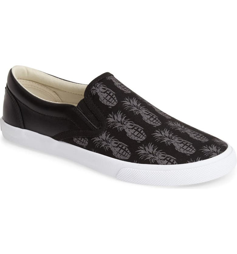 BUCKETFEET 'Pineappleade' Slip-On Sneaker, Main, color, 001