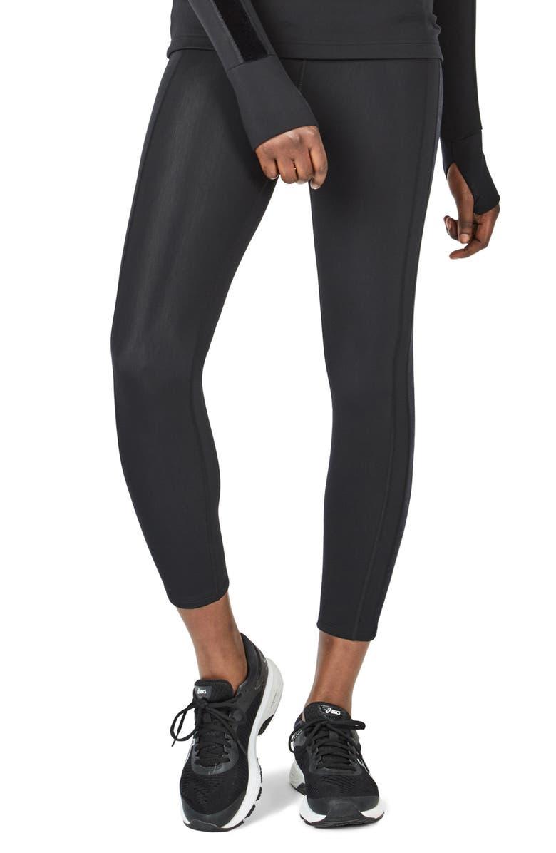 SWEATY BETTY Thermodynamic Run Leggings, Main, color, BLACK