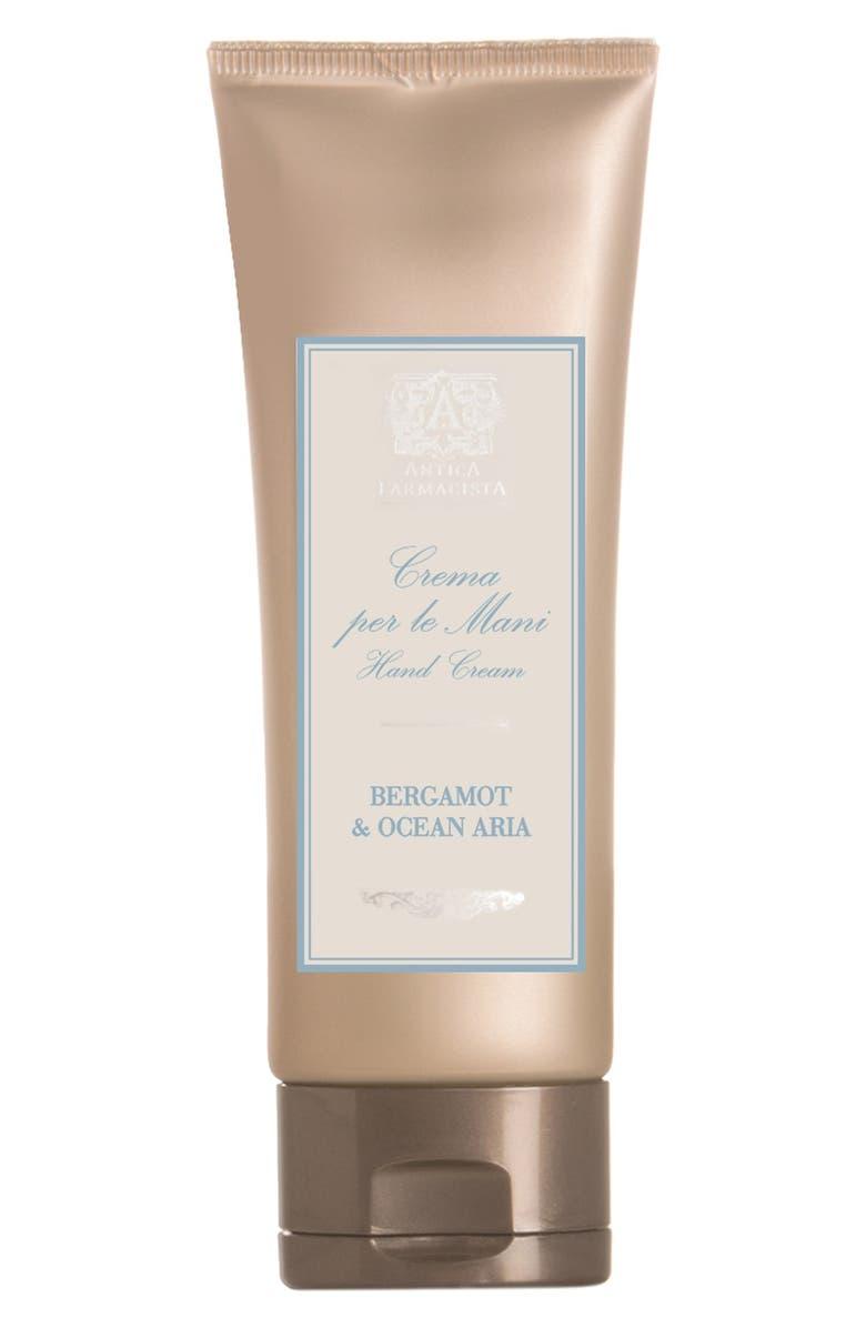 ANTICA FARMACISTA 'Bergamot & Ocean Aria' Hand Cream, Main, color, 000