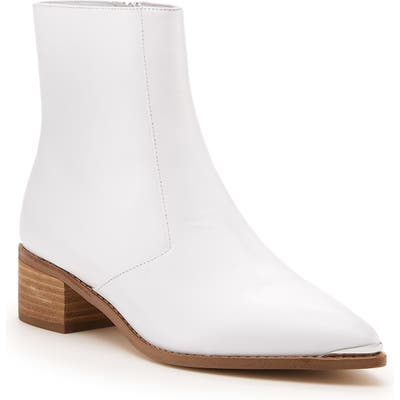 Botkier Greer Pointy Toe Bootie- White