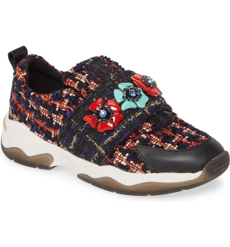 KURT GEIGER LONDON Lara Slip-On Sneaker Sneaker, Main, color, MULT/ OTHER FABRIC