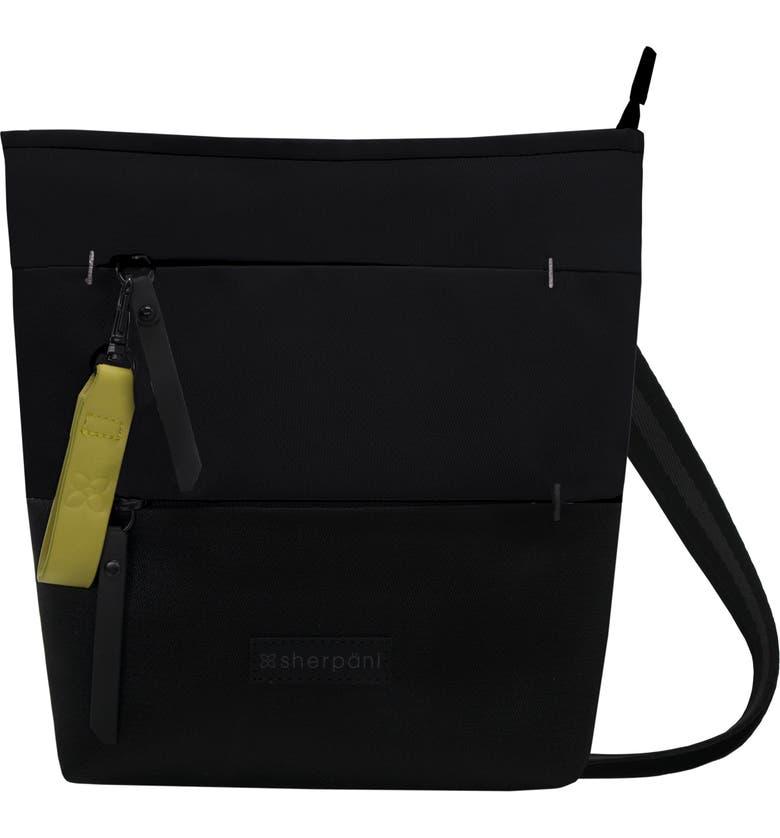 SHERPANI Medium Sadie Crossbody Bag, Main, color, RAVEN