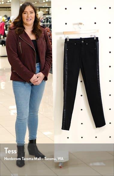 Stripe Ankle Skinny Jeans, sales video thumbnail