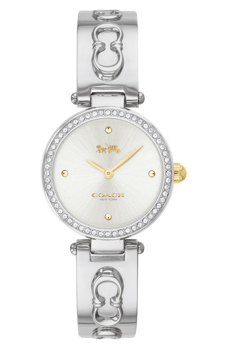 COACH Park Bracelet Watch, 26mm, Main, color, 040