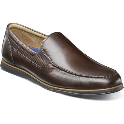 Florsheim Atlantic Venetian Loafer- Brown
