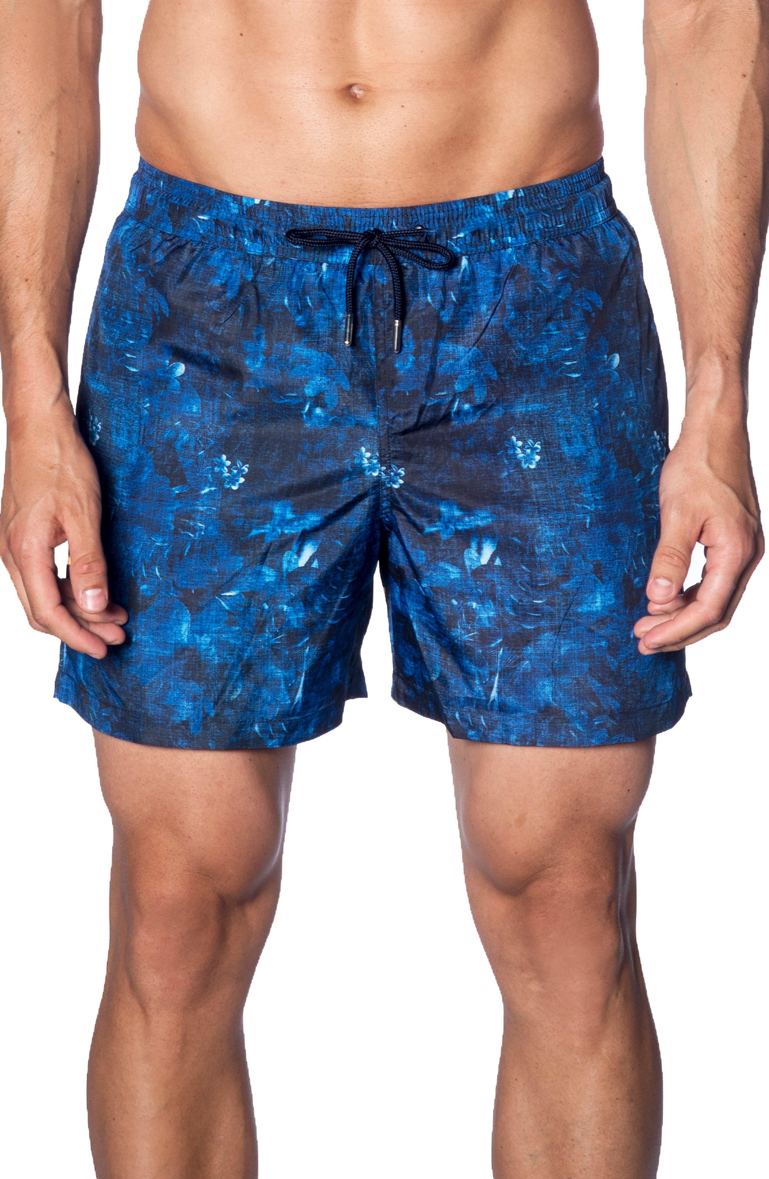 Jared Lang Swim Trunks, Blue