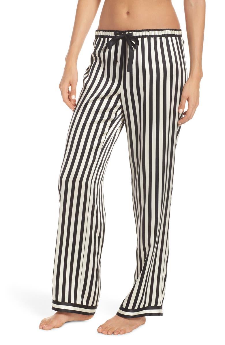 MORGAN LANE Stripe Chantal Pajama Pants, Main, color, 004