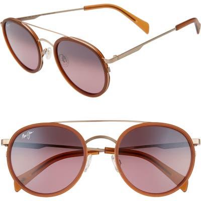Maui Jim Even Keel 51mm Polarizedplus2 Sunglasses - Brown/ Maui Rose