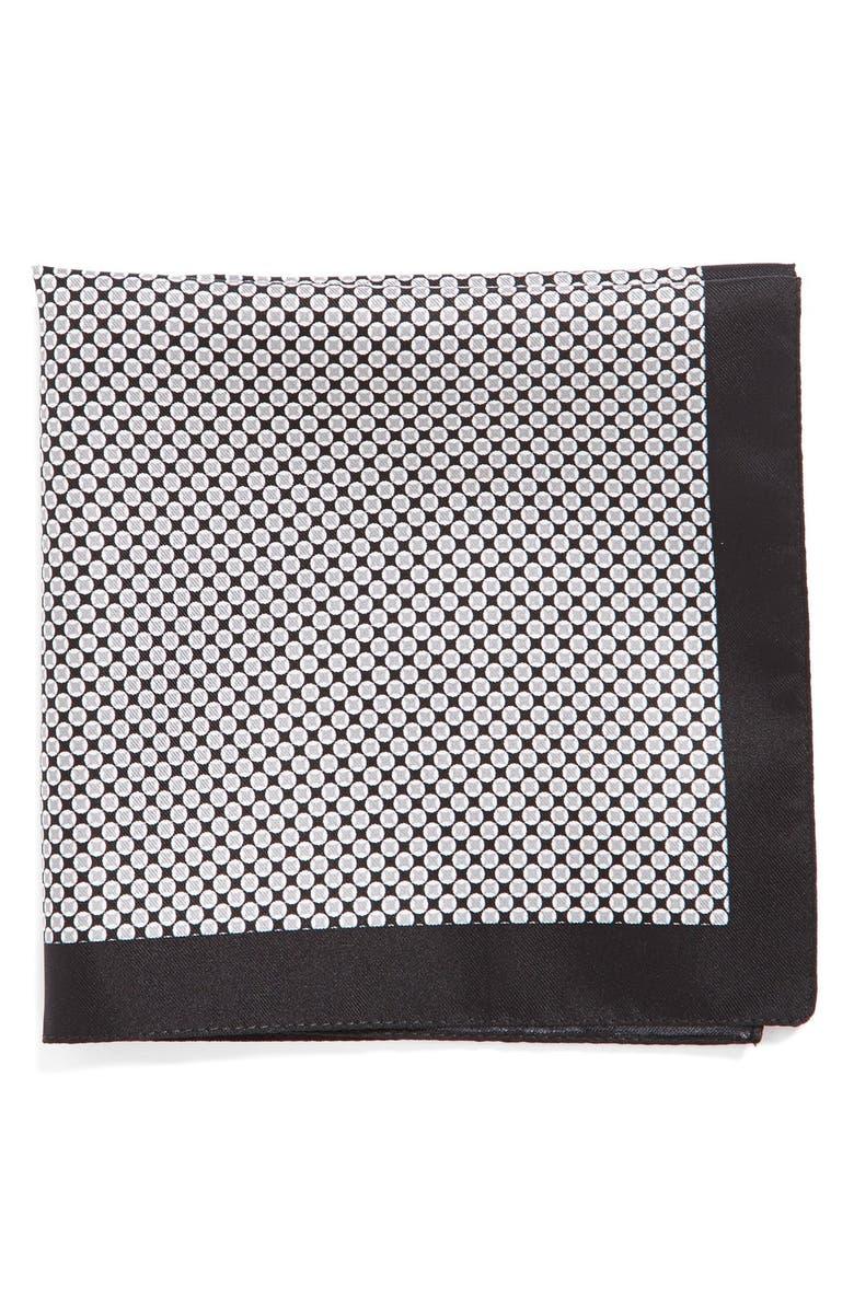 BOSS Silk Pocket Square, Main, color, 003