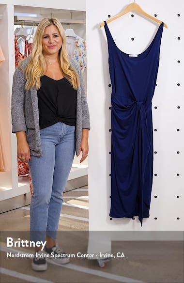 Kaila Wrap Style Jersey Dress, sales video thumbnail