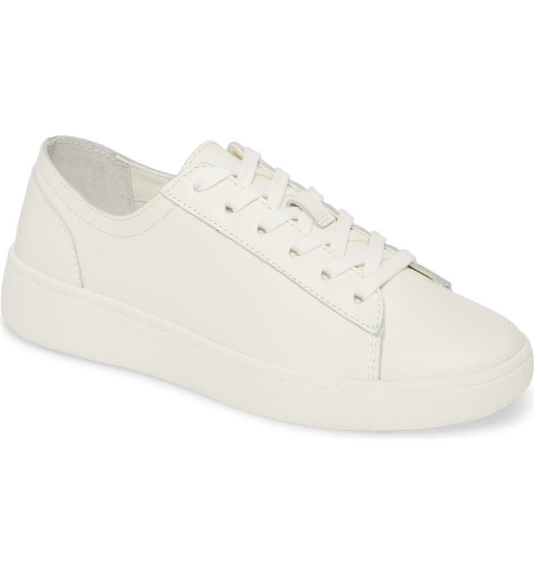 TREASURE & BOND Ollie Low Top Sneaker, Main, color, WHITE LEATHER