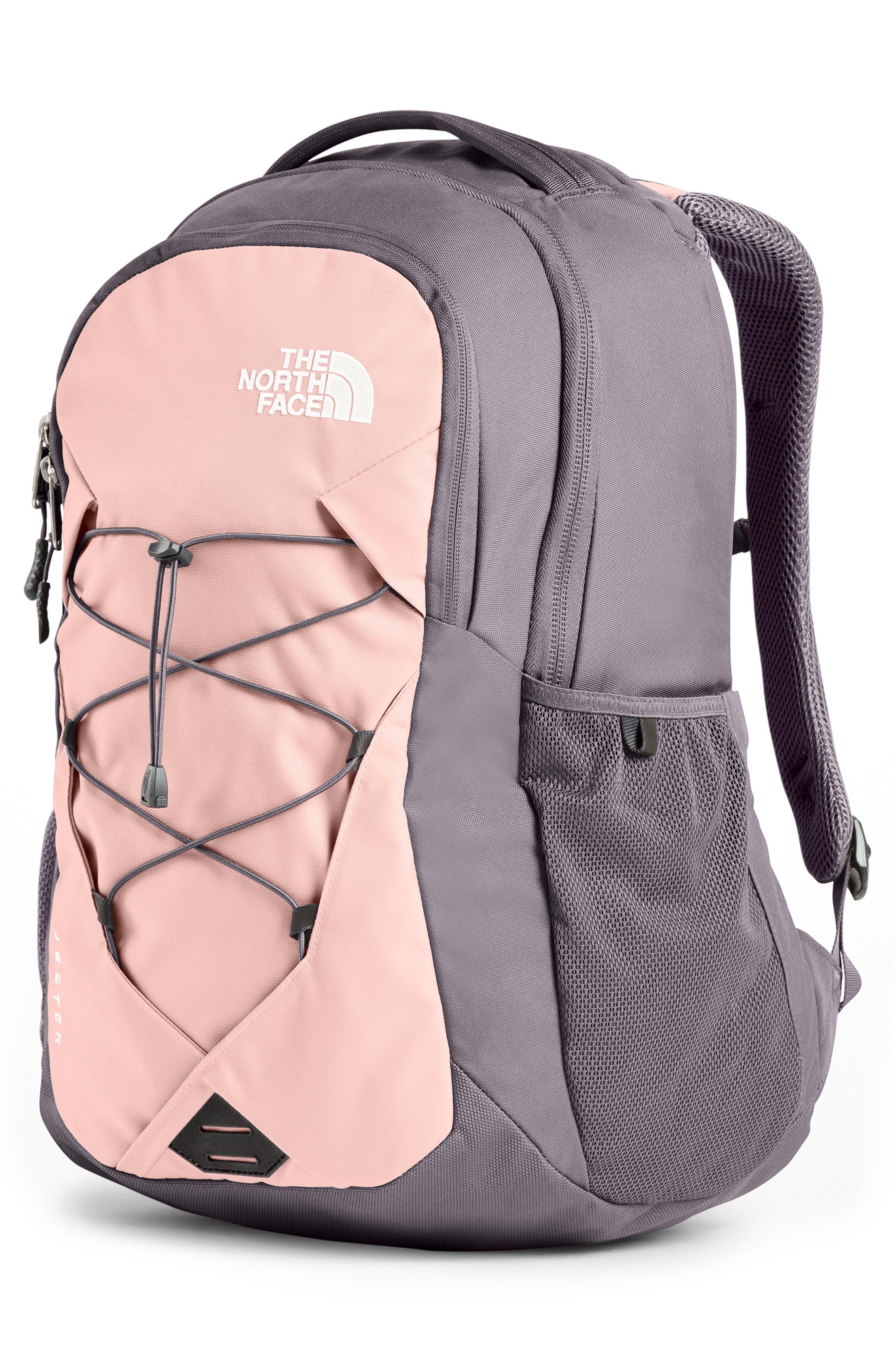 ,                             Jester Backpack,                             Alternate thumbnail 4, color,                             RABBIT GREY/ PINK SALT