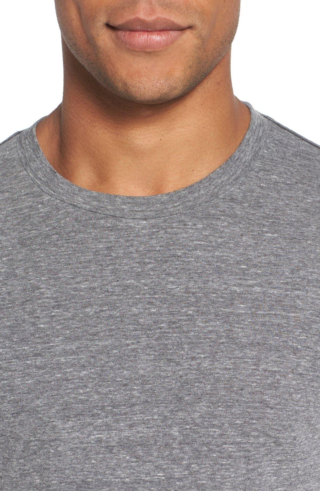,                             Triblend Scallop Long Sleeve Crewneck T-Shirt,                             Alternate thumbnail 12, color,                             020