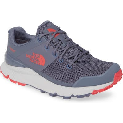 The North Face Vals Waterproof Hiking Sneaker, Grey