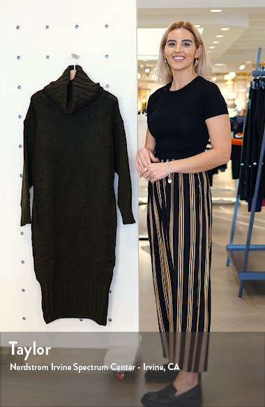 Oversize Cocoon Sweater Dress, sales video thumbnail