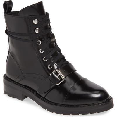Allsaints Donita Combat Boot, Black